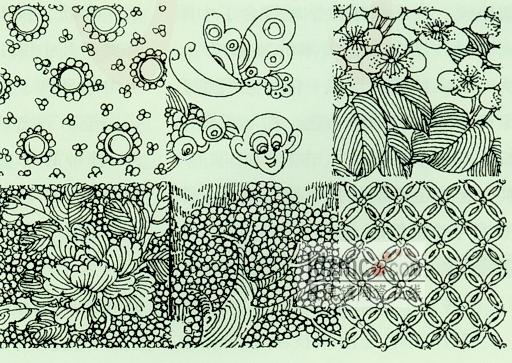 日用品的联想线描画-打印文章