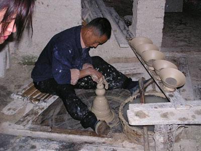 陶瓷窑工一年中十二个月份的民谣