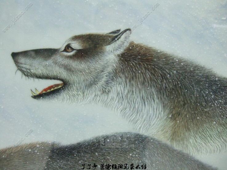 团结绘画作品动物