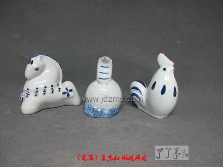 刘远长小号十二生肖陶瓷雕塑总览