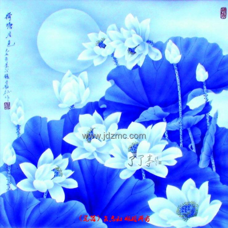 莲花花苞手绘彩铅