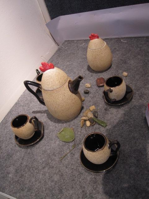 景德镇陶瓷学院 07陶设毕业设计展(组图)