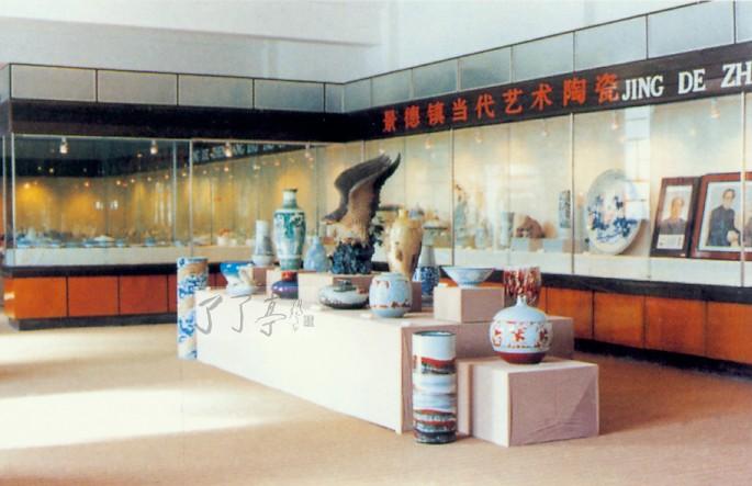 景德镇陶瓷馆,五代陶瓷展厅