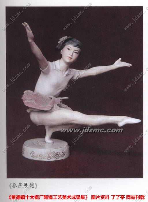 景德镇雕塑瓷厂 美研机构及主要创作人员 高清图片
