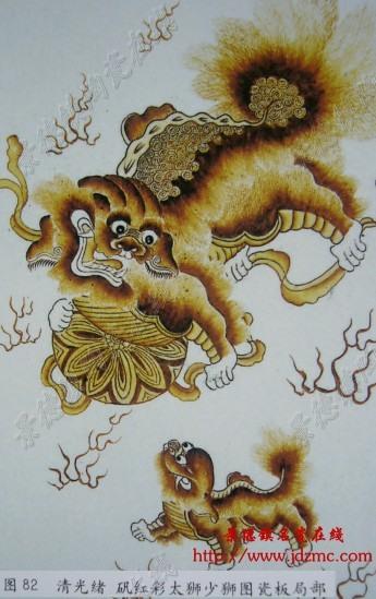 民国瓷器动物纹饰鉴定