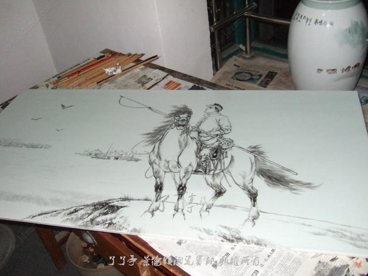 画马的方法步骤