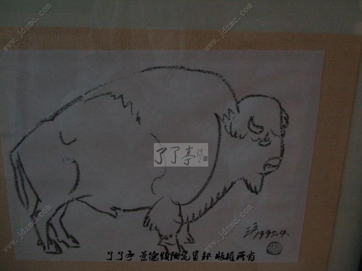 周国桢动物素描作品集