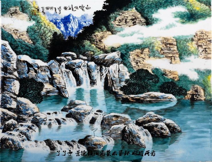 阳光山水的独创者--徐国基教授陶瓷艺术杂志