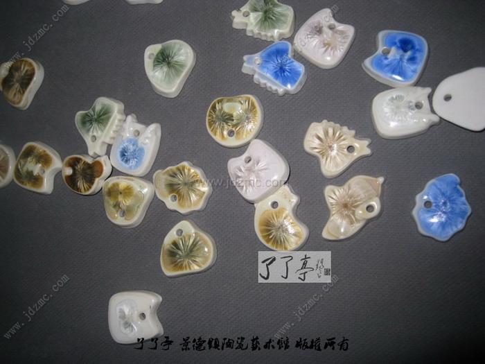 景德镇陶瓷首饰设计十二生肖版