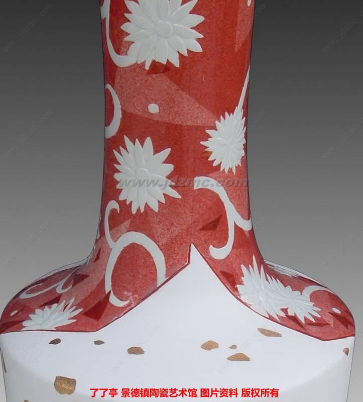 唐玲《花鸟系列》粉彩综合装饰-了了亭-景德镇陶瓷馆