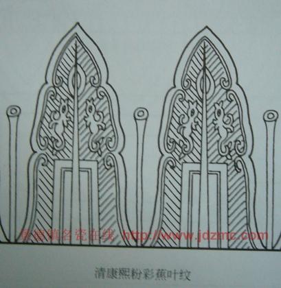 装饰变形花卉图案
