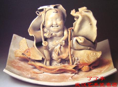 泥板陶艺动物